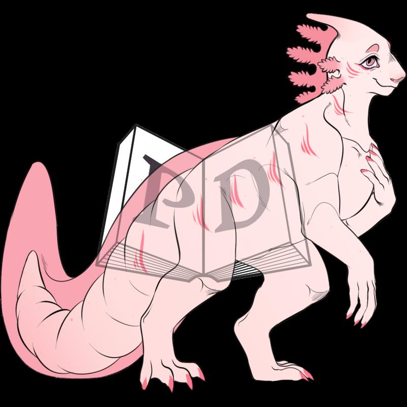 PARA-508-Axolotl: Pearl