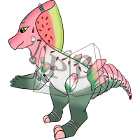 Thumbnail for PARA-572-Watermelon-Tourmaline: Elbaite