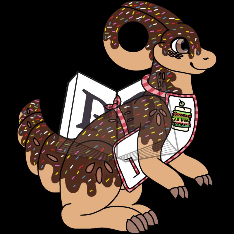 PARA-612-Chocolate-Iced-Doughnut: Dottie