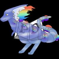 PARA-627-Fire-Rainbow: Dashie