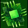 Tech Admin Computer Chip Memento