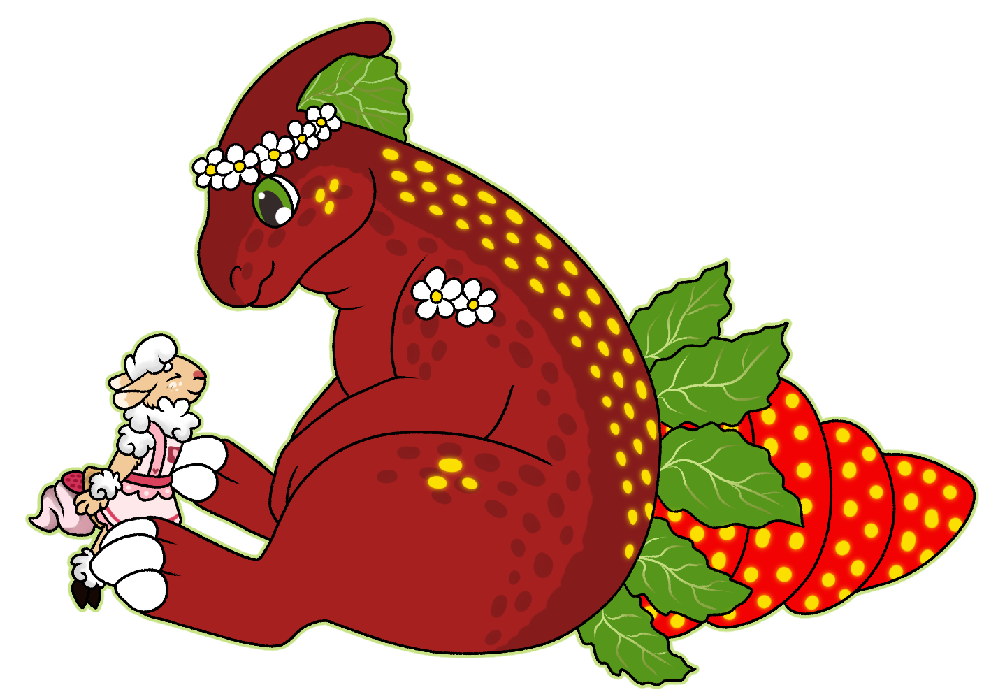 [Gift] [AF] Strawberry and Eileen