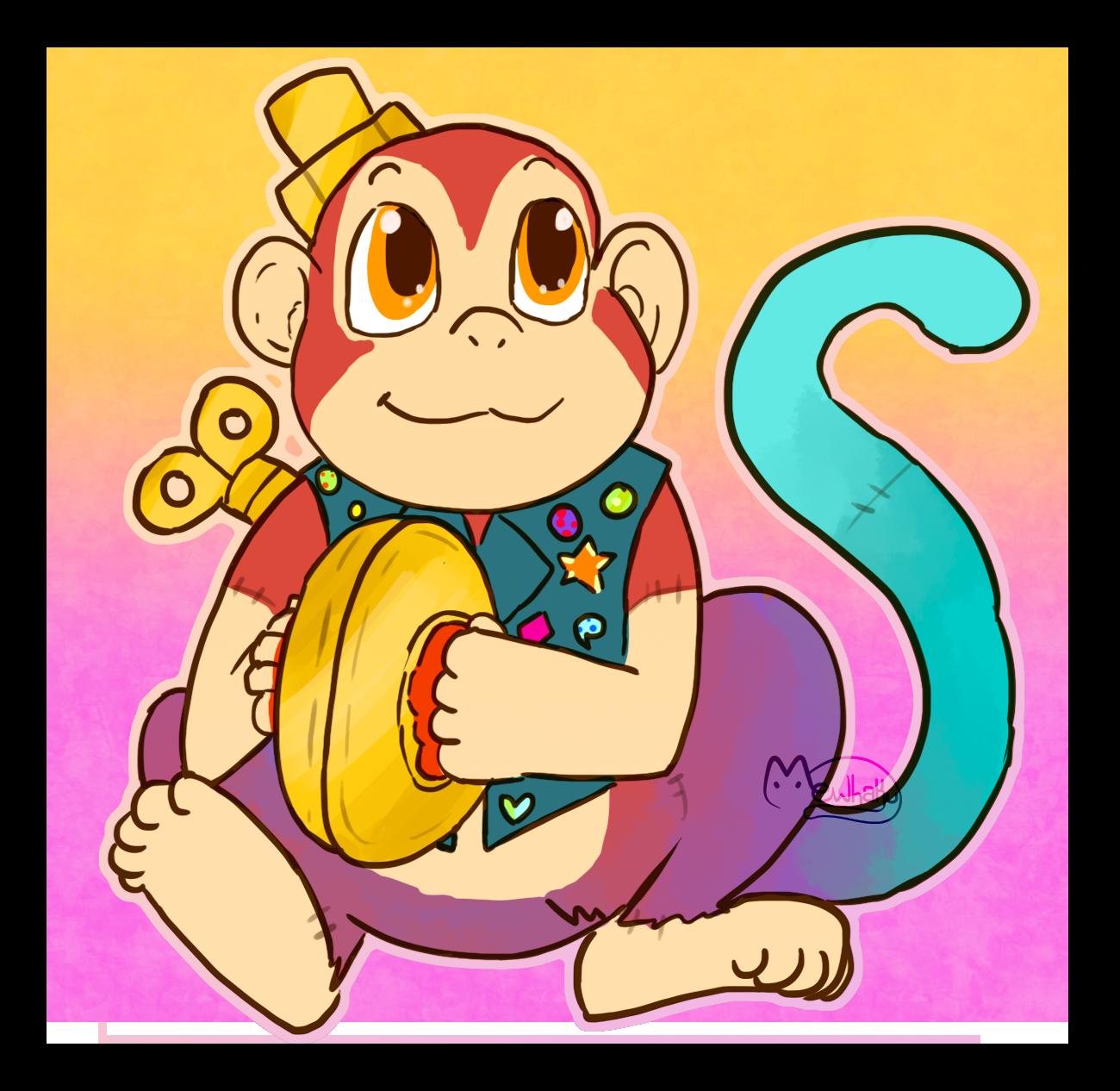 [Trade] [Companion Custom] Cymbal Monkey
