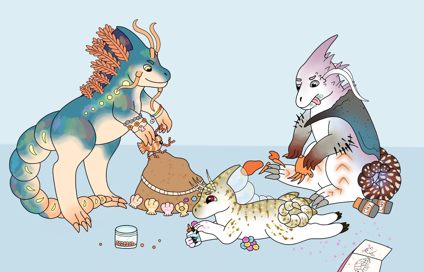 [Comm] Crab Crafts